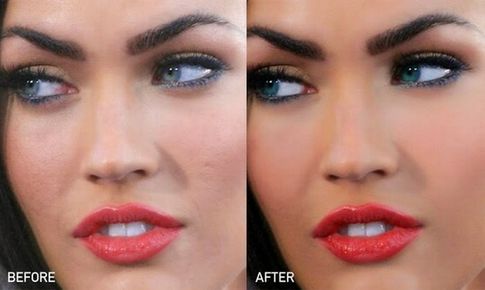 megan fox photoshop