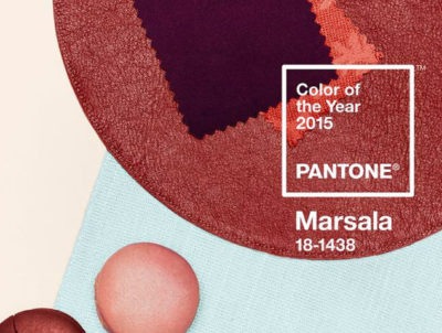 Pantone Marsala example